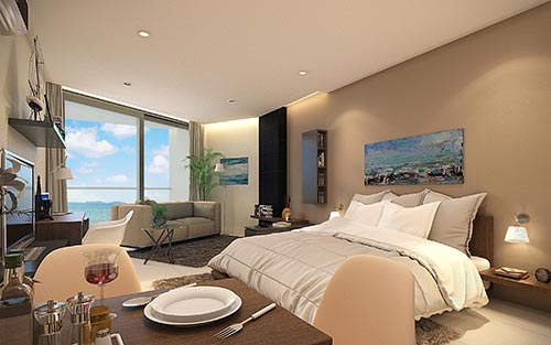 Escape Executive Studio 39-42 sqm